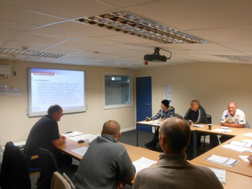 Level 1 Award in Health and Safety in a Construction Environment (QCF): 29th June - 2nd July 2015