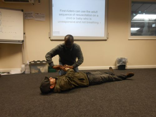 First Aid at Work Refresher: 25th May 2015